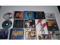 Selling cheap as chips rare bowie cds.