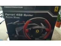Thrustmaster Ferrari steering wheel