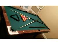 American Pool Snooker Games Table