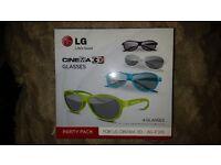 3D Glasses X 4