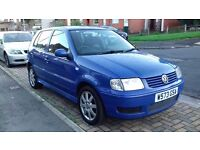 2000 VOLKSWAGEN POLO 1.4 AUTOMATIC 10 MONTHS MOT