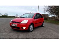 *!*LOW MILES*!* 2004 Ford Fiesta 1.4 Zetec **MOT'd 21st DECEMBER 2017** **ONE LADY OWNER FROM NEW**