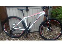 Trek x caliber 9 .29er mountain bike as new condition