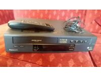 Panasonic NV-HD90B Superdrive with remote control and manual COLLECTION ONLY