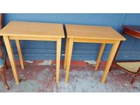 One Wooden Console Table in Good Condition