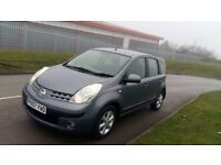 2007 nissan note 1.5 silver manual