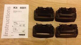 Thule Fitting Kit 4001 for Audi A6 Avant with Flush Railing