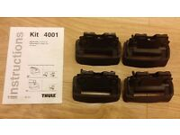 Thule Fitting Kit 4001 for Audi A6 Avant with Flush Railing