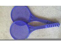 Blue Rackets