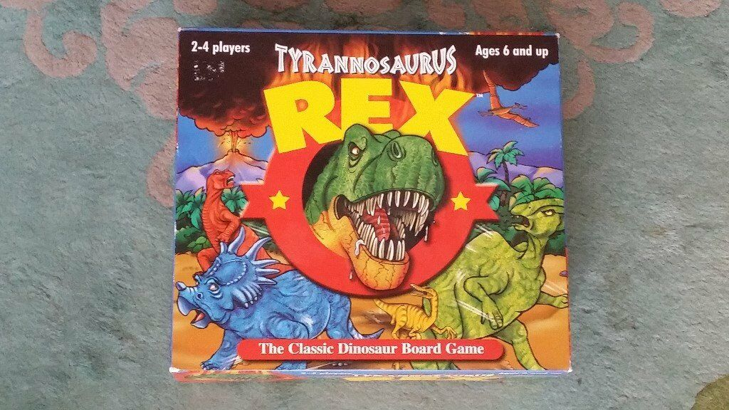Tyrannosaurus Rex Dinosaur Board Game - AS NEW **REDUCED FOR QUICK SALE**