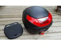 Givi motorcycle scooter moped top box