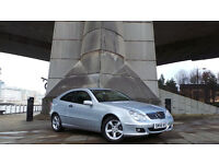 2006 56 MERCEDES C220 CDI SE AUTO COUPE 87K MOT 01/17 DIESEL(PART EX WELCOME)***FINANCE AVAILABLE**
