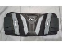 Fox racing turbo kidney belt adjustable adult size