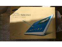 Samsung Galaxy Note Pro SM-P900 32GB, Wi-Fi, 12.2in - white - Boxed like new £100