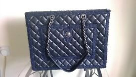 Chanel Leather Shopping Tote Designer Bag