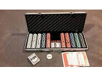 Poker set, heavy weight quality chips