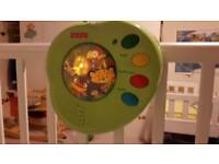 Fisher-Price Rainforest peak-a-boo musical mobile - AS NEW