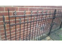 Wrought iron Drivway gates 10'10""
