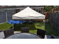 Ajustable height Market canopy gazebo awning outdoor shelter tent 3 available can deliver £70 each