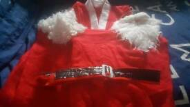Father Christmas outfit
