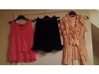Assortment of Ladies Clothes . Size 8 ONLY £3;each !!