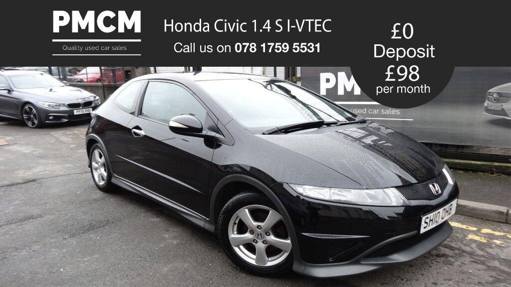 2010 Honda Civic 1.4 S I-VTEC - FULL MOT - SERVICE HISTORY -not focus astra megane corsa clio fiesta
