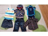Boys 6-9mths bundle next john rocha mothercare