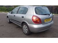 NISSAN ALMERA AUTOMATIC IN VERY GOOD CONDITION. LONG MOT. HPI CLEAR. LAST SERVICE FEBRUARY 2017