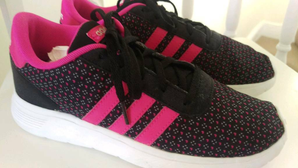 pink adidas trainers size 5.5