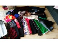 Huge bundle of womens cothes 8/10