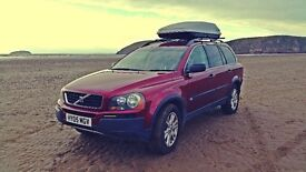 Volvo XC90 2.5t Auto 7 Seats Lpg Conversion FSH Well Look After Family Car Lots of extras Bargain