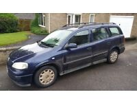 Vauxhall Astra G mk4 1.6 Estate LS Spares or Repairs HeadGasket Long M.O.T 3/19
