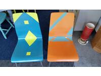 Retro Pair of Chairs