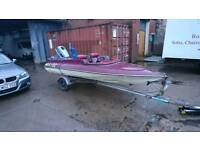 SIMS SUPER V SPEEDBOAT, WATER SKI SET UP £995 ONO