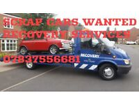 Recovery services SCRAP CARS WANTED