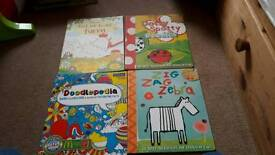Drawing and Doodle books