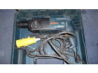 110 volt BOSCH hammer drill