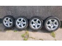 Peugeot alloy wheels.15""