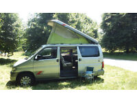 Mazda Bongo campervan, 2.5 Diesel Automatic with Elevating Rooftop. N Reg 1996
