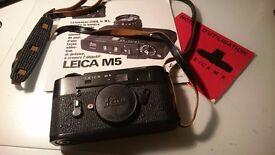 LEICA M5 Camera