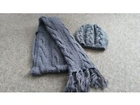 scarf and cap