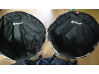 Outwell junior comfort camping chairs x2