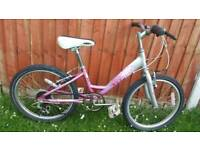 Girls Mountain Bike in Good Condition