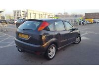Ford focus automatic 1.6 low mileage 79k mot an tax Dec in perfect condition