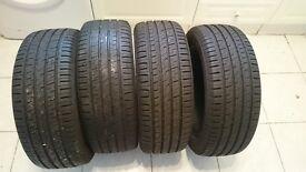 4 x Barum Tyres 195/50 R 15V hardly used £50