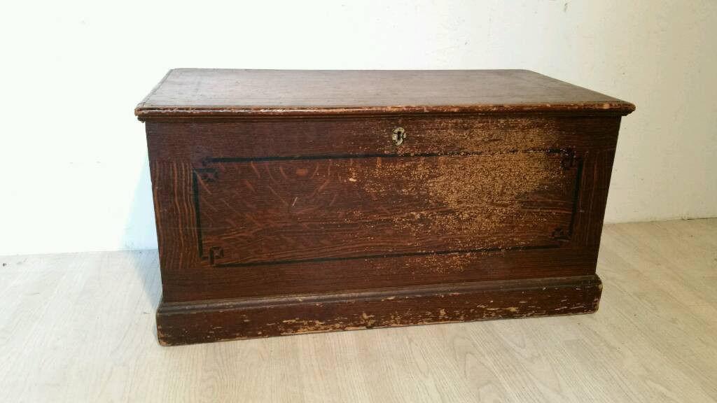 Classic Large Pine Scottish Kist