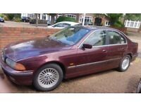 Bmw 523i SE e39 5series with rare manual gearbox