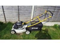 Ryobi self propelled petrol mower