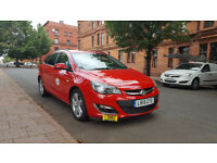 Private Hire car for rent Glasgow Council ,VAUXHALL ASTRA ESTATE 1.6 ECOFLEX 12K,rent from 160 pw ,