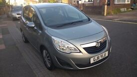 Vauxhall Meriva Exclusiv 1.4 16v 2011 Model £150 Road Tax People Carrier Mpv Exclusive £3295 Offers